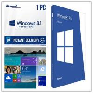Quality Original Windows 8.1 Pro OEM License , Windows 8.1 Download 64 Bit For PC for sale