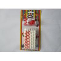 Best Cute Red White Valentine'S Day Candles 3.34 Inch Height SGS Approved wholesale