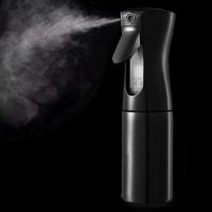Quality Plastic PP Custom Design Black Fine Mist Continuous Spray Bottles for sale