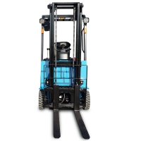 8000lbs Curtis Controller 3.5T Three Wheel Battery Operated Forklift for sale