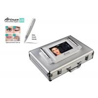 China Microneedle therapy Digital Permanent Makeup Machine with double handles intelligent switch on sale