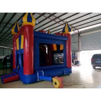 Best Inflatable PVC Castle , Inflatable Bounce House For Children With Mini Jumper Slide wholesale