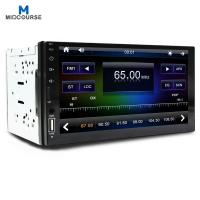 Quality Fast Charging  Double Din Car Stereo With Sat Nav / In Dash Touch Screen Radio for sale