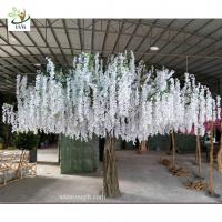 Best UVG 4m large artificial decorative tree with wisteria blossom for home garden decoration wholesale