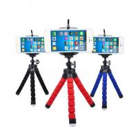 China Mini Portable Flexible Sponge Octopus Tripod Stand Mount With Holder For GoPro Hero 3 3+ 4 4s Phone Nikon on sale