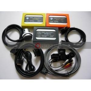 Quality TRIB 3B DIAGNOSTIC TOOL BMW GT1+BMW MINI OPS +MB C4 for sale