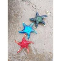 Quality Blue Modern Sea Star Glass Craft For Decoration Custom Color LOGO Handblow for sale