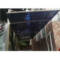 Buy cheap Sturdy Aluminum Porch Awnings / High Strength Awning Canopy Patio Rain Cover from wholesalers