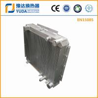 8T excavator oil cooler, plate bar hydraulic oil cooler for sale