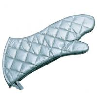Quality Steam Protection Silver Oven Mitts high Flexibility? Fits Comfortably for sale