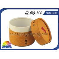 Best Customized Cylinder Paper Packaging Tube , Food Grade Round Paper Tube Containers wholesale