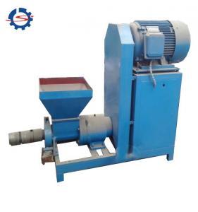 Quality Low consumption sawdust briquette making machine 250kg/h BBQ charcoal briquette machine for sale