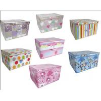 China Contemporary Storage Chest Box Toy Laundry Pop Up Foldable Home designs on sale