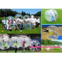 China Outdoor Football Sports Inflatable Bumper Ball , Bubble Soccer Ball With Pump on sale