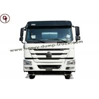 Buy cheap 10 Wheel 380HP 420HP Sinotruk Howo 6x4 Dump Truck Manual Transmission Type from wholesalers