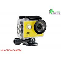 "Quality H9 WiFi Waterproof 30M 1080P HD Action Camera 2.0"" LCD OV4689 170Degree Sports DV for sale"