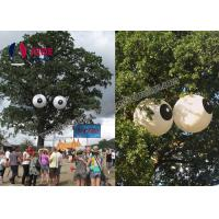 China Hanging Trees Inflatable Holiday Decor Aerated Funny Scare Eye Balloons on sale