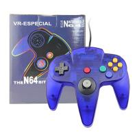 Quality ABS Plastic Nintendo 64 Clear Purple Controller , Nintendo 64 Game Controller for sale