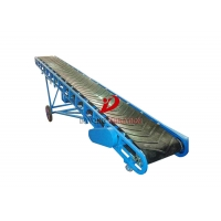 Quality Chemical Industry Ribbon 3kw Powered Belt Conveyor for sale
