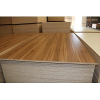 Quality Base Wood Grain Melamine Particle Board / Industrial White Particle Board Sheets for sale
