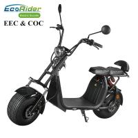 Buy cheap 60V 12ah/20ah Two Wheels Electric Scooter EcoRider ES057 Citycoco 6-8 Hours from wholesalers