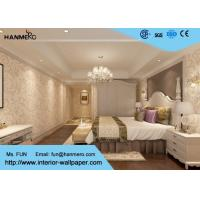 China Eco-friendly Non-woven Interior Wallpaper , European Style Leaf Pattern Wallpaper on sale