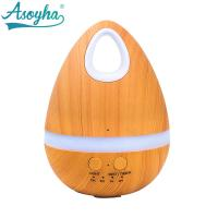 Quality Egg Shaped Cool Air Mist Humidifier , 200ml Large Capacity Humidifier for sale