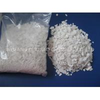 Quality Ph Value 8-10 Calcium Chloride Flakes , Cacl2 Salt Ice Melt For Highway for sale