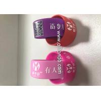 Quality Wholesale Custom Single Color 3D Debossed Fashion Logo Bracelet Silicone Rubber Wrist Band for Sports for sale