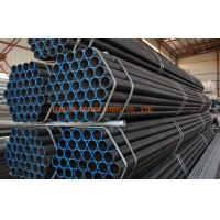 Quality Oiled Cold Rolled Steel Pipe , Round Welding Gas Tube St37-2 , St52-3 for sale