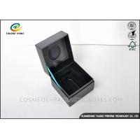 Quality High End Unique Jewelry Gift Boxes Recyclable Paperboard Materials For Ring / Watch for sale