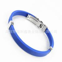 Best The South Korean trade titanium silicone bracelet anti fatigue and anti radiation jewelry women's negative ion Bracelet wholesale