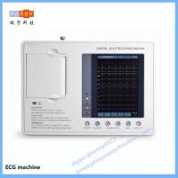 Quality hospital use 3 channel 6 channel 12 channel ECG machine with touch screen for sale