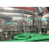 Quality SGS 4000BPH 4.23kw Juice Bottle Filling Machine Integrated Washing Capping for sale
