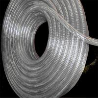 Quality Non-rolled steel wire inlaid reinforced spiral PVC hose for sale