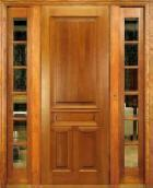 Quality PreHung Door with 2 Sidelites 138# for sale