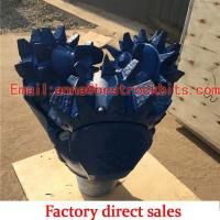 Quality steel tooth bit Oil Equipment Button insert drill Bit for rock Manufacturer for mining for sale