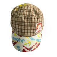 Quality Summer Outdoor Childrens Fitted Hats Peaked Caps For Men With Printing Word / Pattern for sale