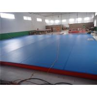 Quality Professional Air Track Mat Parkour Air Mat For Practice 15*2*0.2M for sale