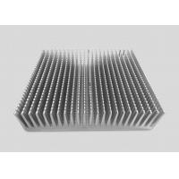Quality 16CM Height Precision CNC Machining Services Aluminum Alloy Heat Sinks 25CM Square Shaped for sale
