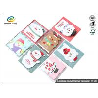 Quality Personalised Recycled Gaphic Paper Greeting Cards For Craft Gifts CMYK Color for sale