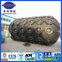 Quality Dia.3.3M Length 6.5M Pneumatic Rubber Fender-Aohai Marine Fittings Co., Ltd for sale