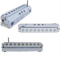 Quality 9pcs*18W led battery&wireless dmx wall washer dmx bar light stage wall led washer lights for sale