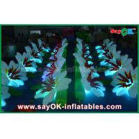 China Customized Nylon Cloth Inflatable Lighting Decoration Wedding Flower Chain on sale