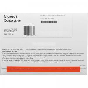 Quality Hot Selling Microsoft Windows 8.1 professional OEM DVD 32bit 64 bit win 8.1 pro key oem package dvd coa sticker for sale
