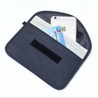 Quality RFID Shielding Pouch Wallet case RFID Signal Blocking Bag Mobile phone signal shielding bag for sale