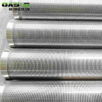 Buy cheap Continuous Slot Stainless Steel Well Screen Pipe Customized Length 18mm Pixels from wholesalers