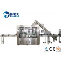 China Reliable Automated Glass Bottling Equipment , Bottle Filling Machine Small on sale