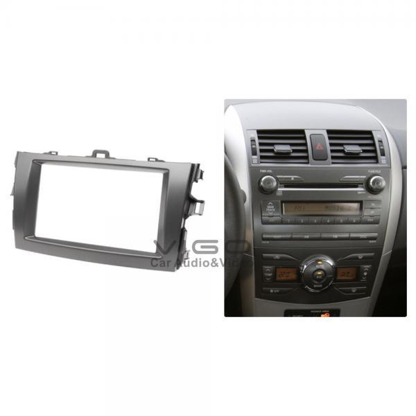 Buy Toyota Corolla Stereo CD Facia Trim Installa Kit , Car Radio Fascia at wholesale prices