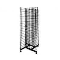 Quality Custom Printed 10 Tire Supermarkets Wire Display Racks With Iron Plate / Pipe for sale